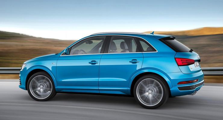 Компания Audi выбрала название для маленького кроссовера