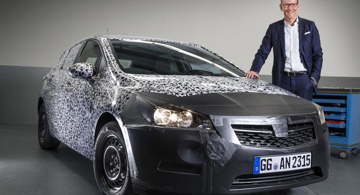 Журналисты разузнали первые подробности о новом Opel Astra (фото)