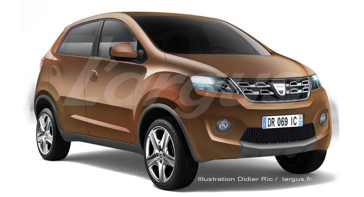Новый хэтчбек Renault под брендом Dacia будет стоить 5000 евро