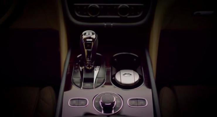 Bentley показал интерьер кроссовера Bentayga (видео)