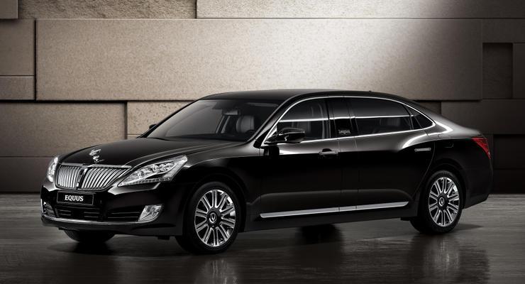 В Украине представили люксовый Hyundai Equus Limousin
