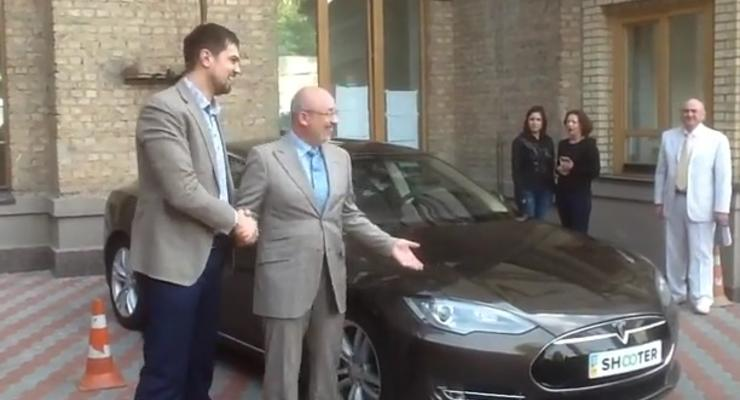 Киевсовет решил заменить свой автопарк на электромобили (видео)