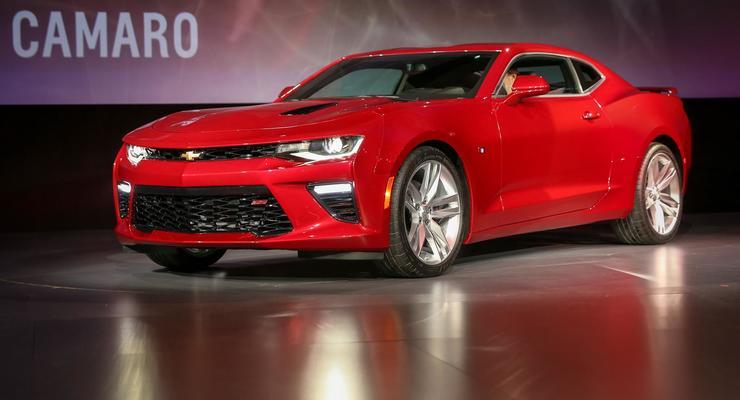 Компания Chevrolet представила новое поколение Camaro (фото)