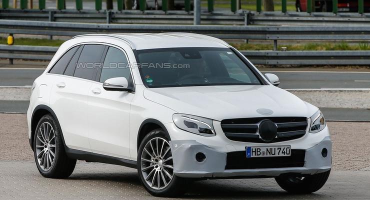 Новый кроссовер Mercedes GLC будет менее угловатым, чем предшественник (фото)