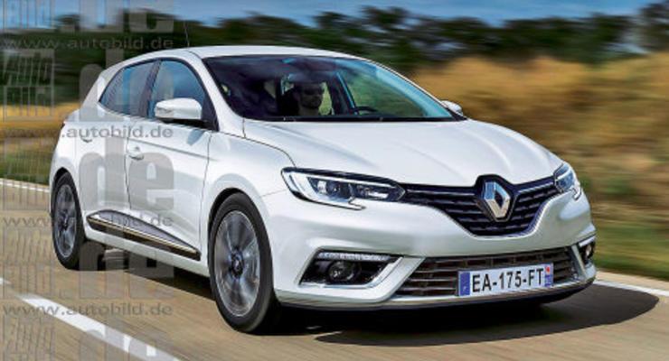 Стали известны первые подробности о новом Renault Megane