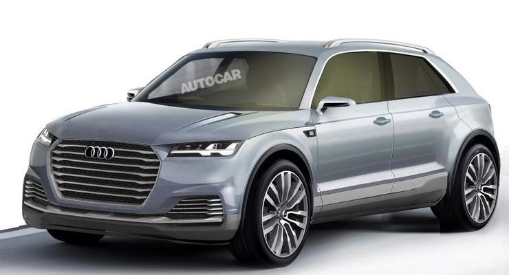 Компания Audi подтвердила серийное производство трех новых кроссоверов