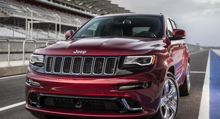 Jeep готовит сверхмощную версию Grand Cherokee
