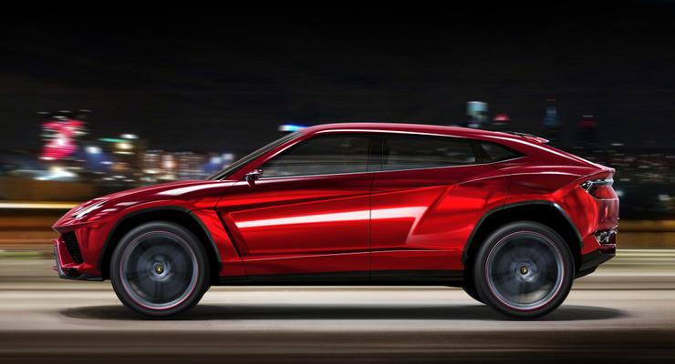 Официально: Lamborghini Urus появится в 2018 году