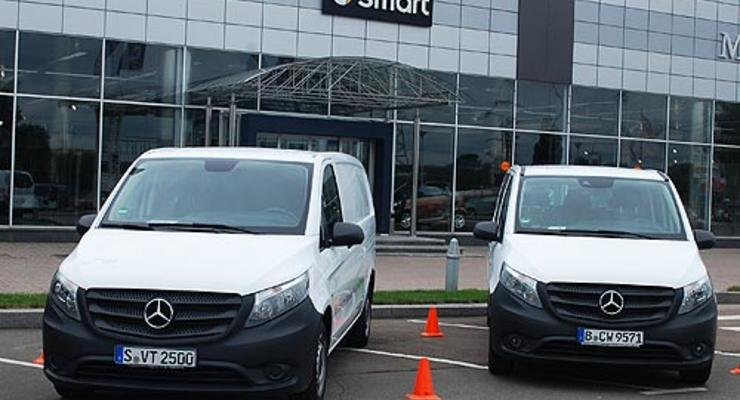 В Украине показали новинки коммерческой техники Mercedes (фото)