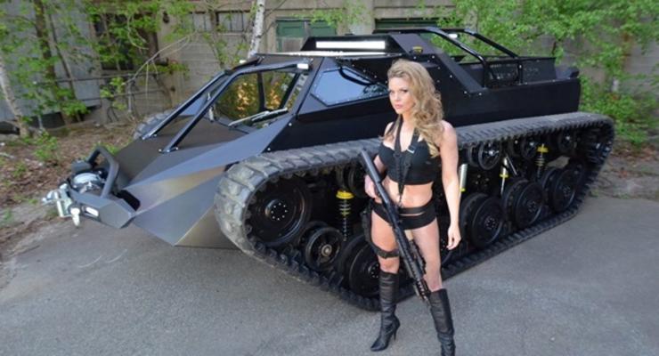 """В США представили """"премиум танк"""" для гражданских"""