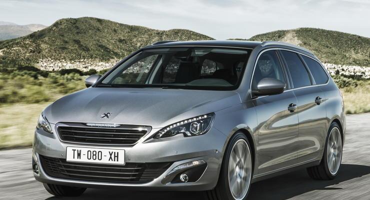В Украине начинаются продажи универсала Peugeot 308 SW