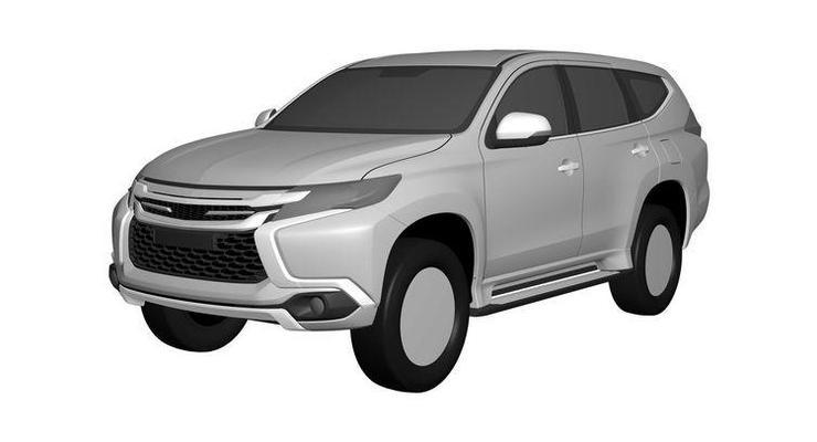 Дизайн нового Mitsubishi Pajero Sport рассекретили (фото)