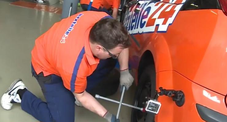 В Германии установлен рекорд Гиннесса по скоростной смене колес (видео)