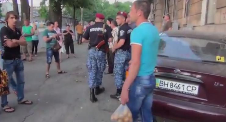 В Одессе Daewoo оторвал ступню женщине-пешеходу (видео)