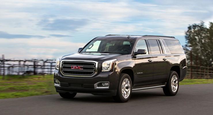 Компания General Motors обновила внедорожники GMC (фото)
