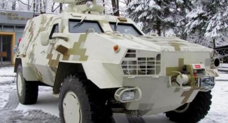 Серийный выпуск украинского броневика Дозор-Б опять отложили
