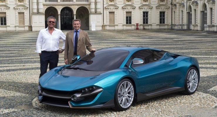В Италии представили суперкар-гибрид с максимальной скоростью 390 км/ч