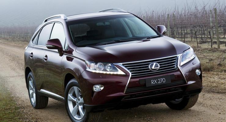 Украинские дилеры Lexus начали прием заказов на модель RX 270 Business
