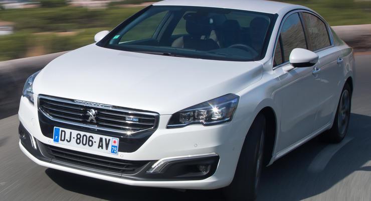 В Украине дилеры объявили цены на новый Peugeot 508