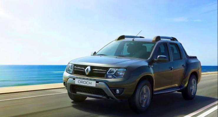 Компания Renault официально представила пикап на базе Duster (фото)