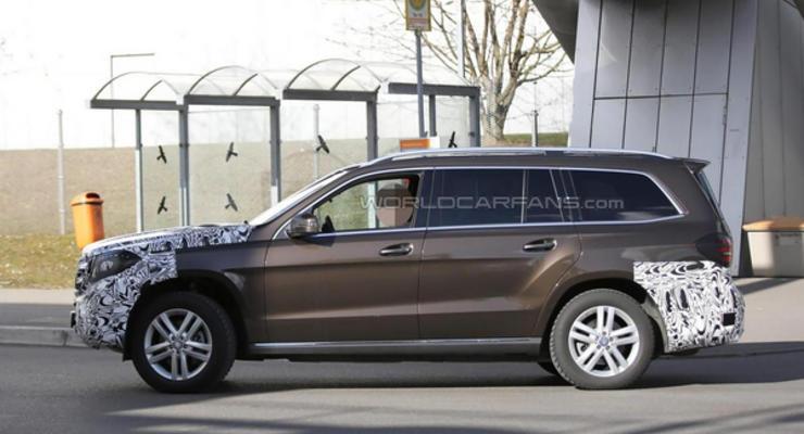 Mercedes анонсировал создание купе на базе кроссовера GLS