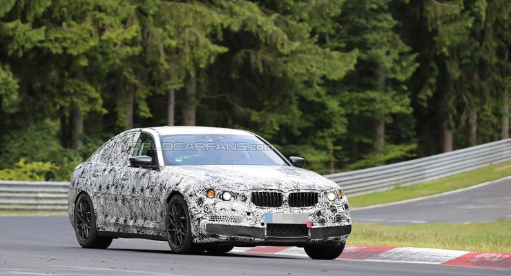 Новое поколение BMW M5 заметили на тестах в Германии (фото)