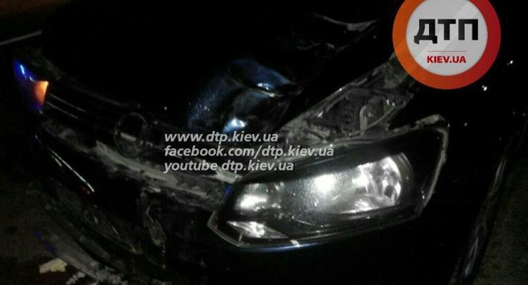 В Киеве Volkswagen Polo разорвал на части пешехода (фото)
