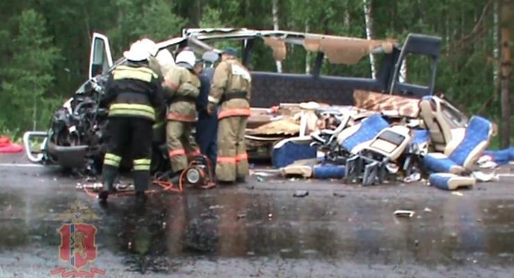 В России в ДТП погибли 11 человек (видео)