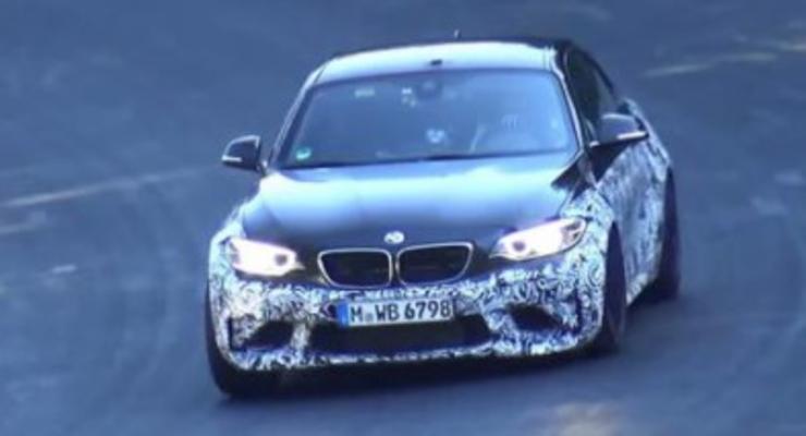 BMW M2 Coupe засняли во время тестов (видео)