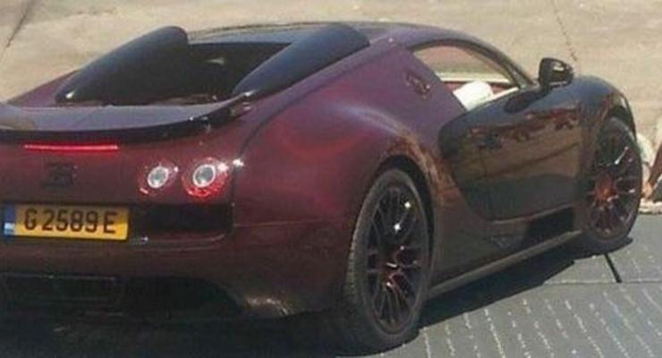 В Марокко заметили уникальный Bugatti Veyron La Finale