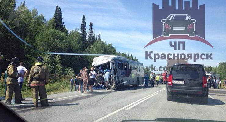 В Красноярском крае в ДТП погибли 11 человек