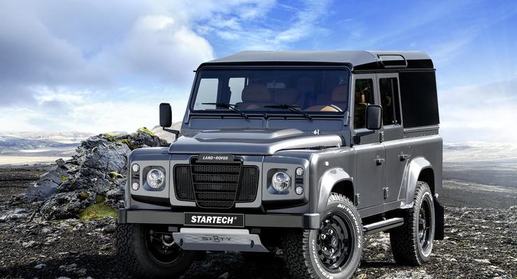Тюнинг-ателье Startech представило Land Rover Defender Sixty8