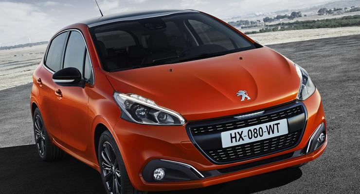В Украине начались продажи обновленного Peugeot 208