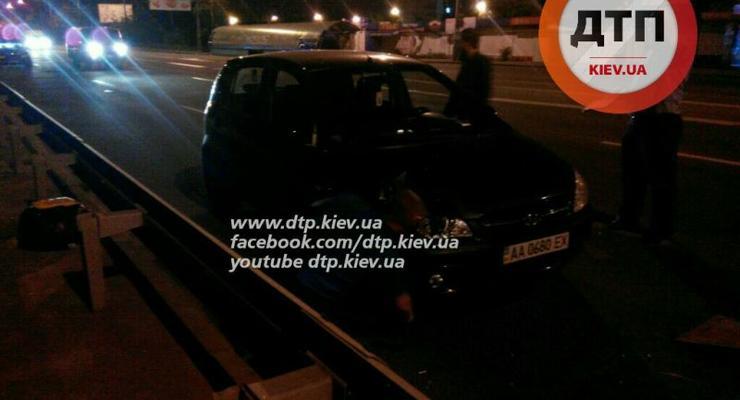В Киеве Hyundai насмерть сбил пешехода-нарушителя