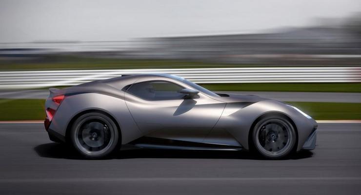 В США представят китайский суперкар Icona Vulcano Titanium