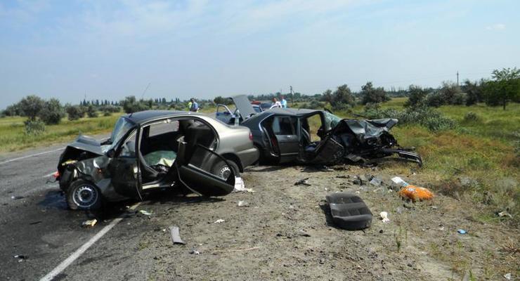 В Херсонской области в ДТП погибли три человека