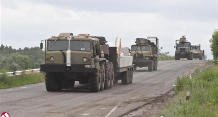 Под Мариуполем произошло ДТП с участием военного транспорта