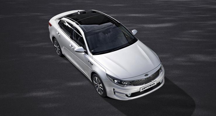 Компания Kia представила европейскую версию Optima (фото)