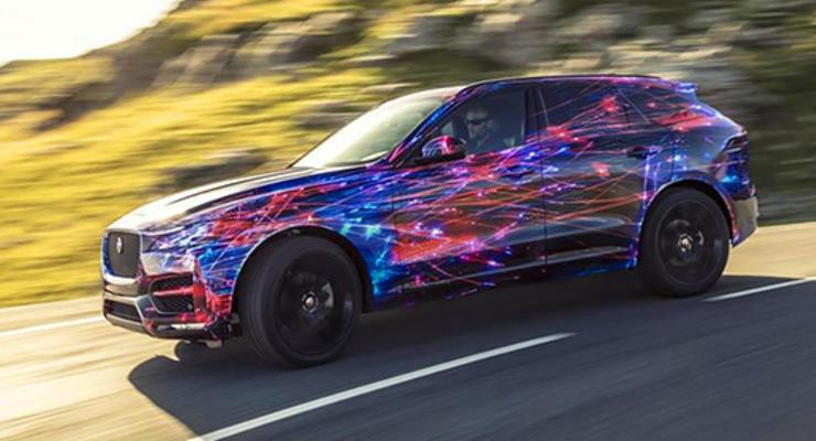 Jaguar рассказал о характеристиках кроссовера F-Pace