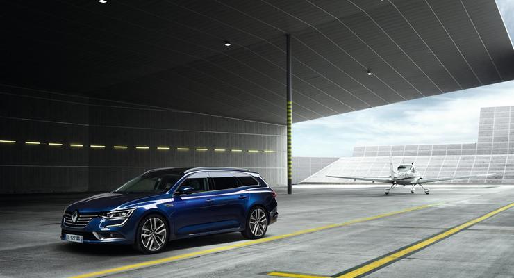Компания Renault представил Talisman в кузове универсал (фото)
