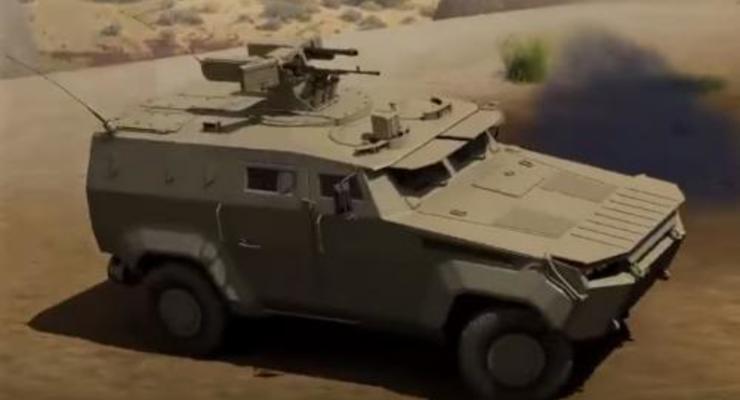"""В Украине завершают разработку нового броневика """"Тритон"""""""