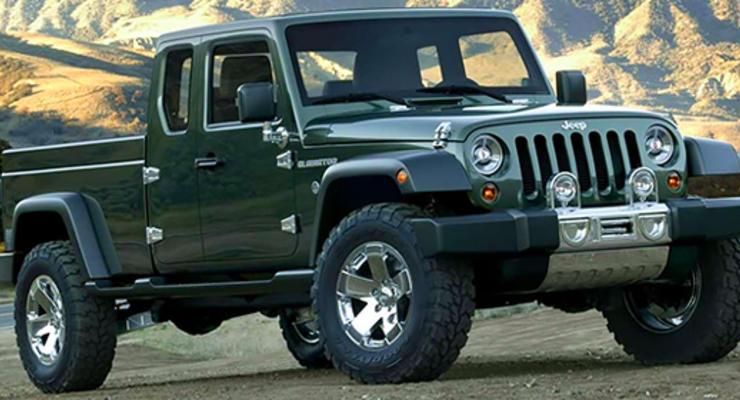 Jeep разрабатывает пикап на базе Wrangler