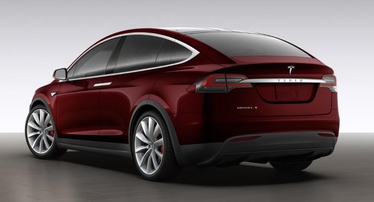 Tesla показала кроссовер Model X (фото)