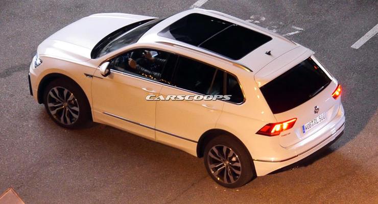 Новое поколение Volkswagen Tiguan заметили без камуфляжа (фото)
