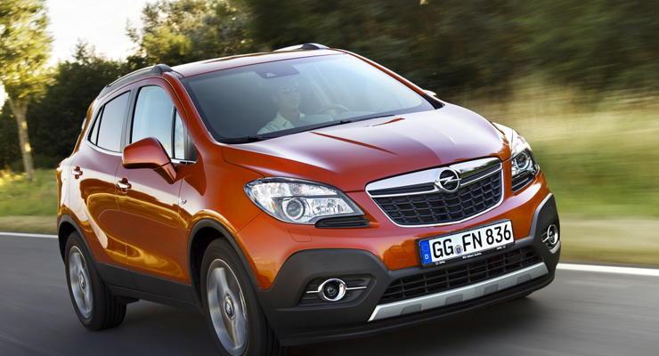 В Украине начались продажи новой версии Opel Mokka
