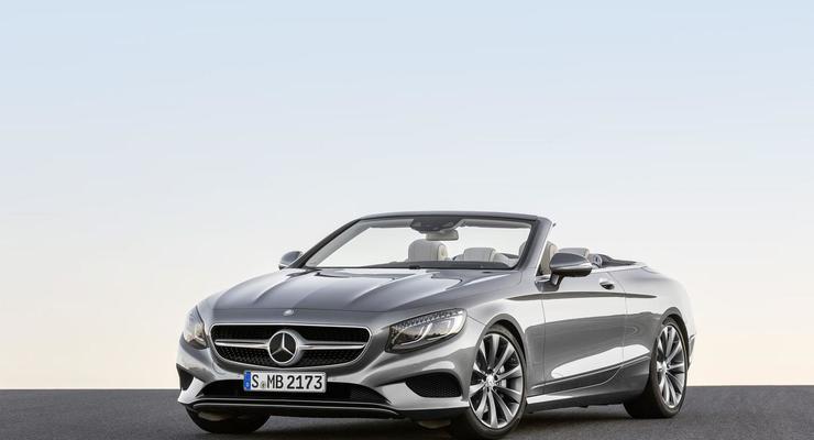 Mercedes показал четырехместный кабриолет S-Class (фото)