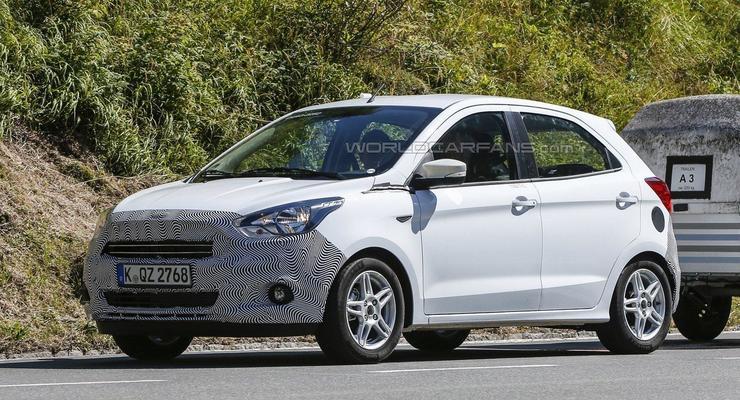 Компания Ford тестирует новый хэтчбек для Европы (фото)