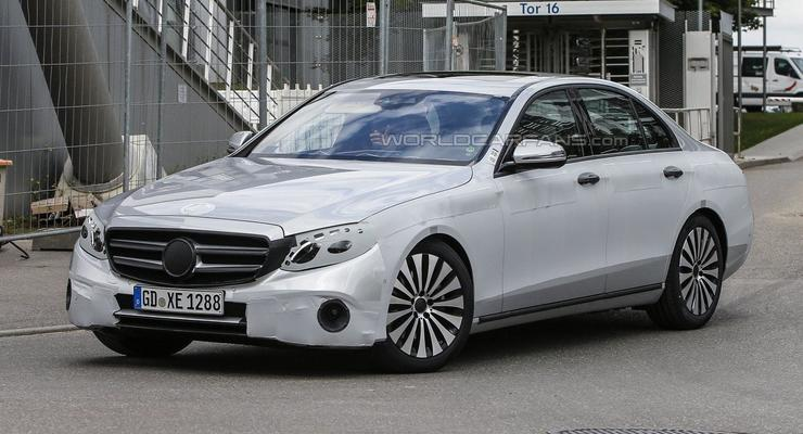 Mercedes вывел новый E-Class на финальные тесты (фото)