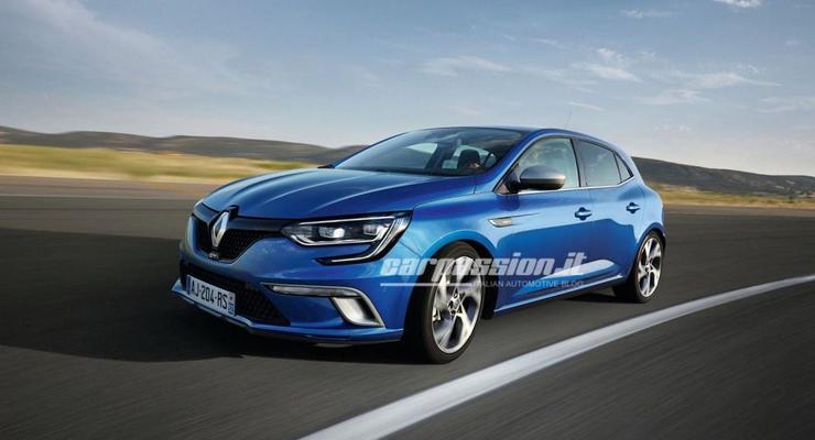 Renault рассекретил новое поколение Megane (фото)