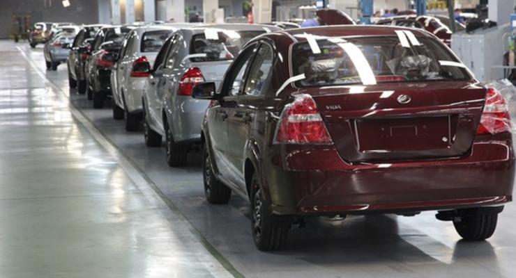 Украина в августе не произвела ни одного легкового автомобиля